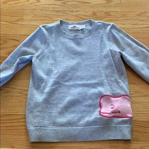 Girls vineyard vines sweater